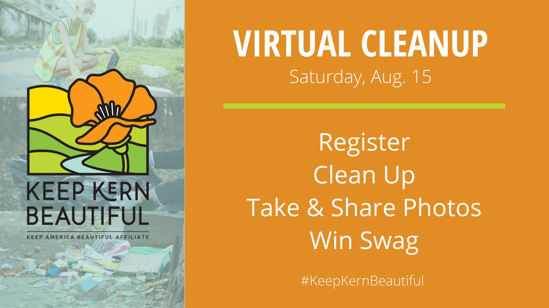 Kern County Public Work and Keep Kern Beautiful Virtual Cleanup